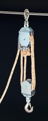 【個人宅配送不可】[EA987CH-6]「直送」【代引不可・他メーカー同梱不可】 270kgロープホイスト EA987CH6【キャンセル不可】