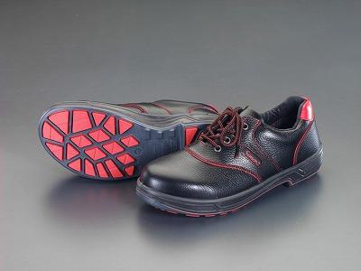 [EA998SC-25.5] 25.5cm安全靴 (黒・赤) EA998SC25.5【キャンセル不可】