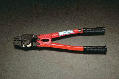 【個人宅配送不可】[EA628S-3.5]「直送」【代引不可・他メーカー同梱不可】 (1.5-3.5mm ) ロープスリーブ圧着工具 EA628S3.5【キャンセル不可】