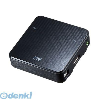 サンワサプライ SW-KVM2WDPU DisplayPort対応手元スイッチ付きパソコン自動切替器【2:1】 SWKVM2WDPU【送料無料】