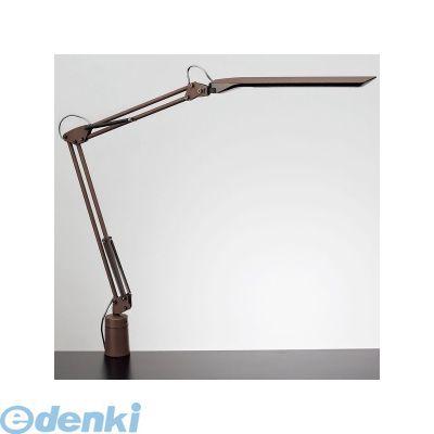 【個数:1個】山田照明 Z-N1100BR デスクライト LEDスタンド 白熱80W相当 ブラウン×ブラック ZN1100BR