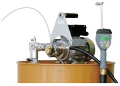 【個数:1個】アクアシステム(アクア) [EVVD20ATPSH]「直送」【代引不可・他メーカー同梱不可】 ハンディ電動オイルポンプ ドラム用 100V