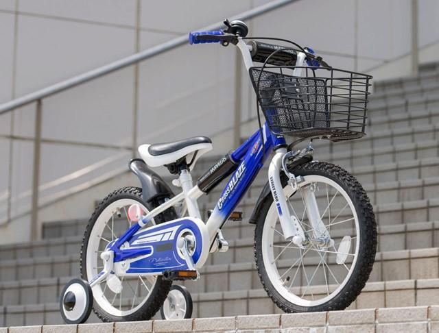 【個数:1個】マイパラス MYPALLAS 4547035006615 直送 代引不可・他メーカー同梱不可 子供用自転車16 ブルー MD-10【キャンセル不可】