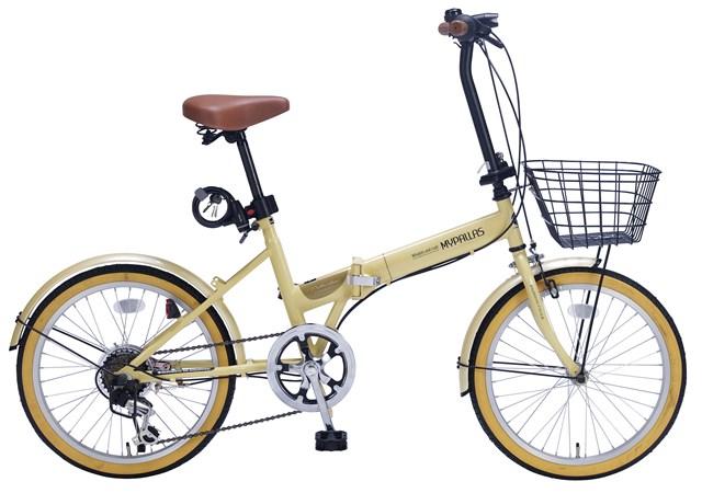 【個数:1個】マイパラス(MYPALLAS) [4547035125248]「直送」【代引不可・他メーカー同梱不可】 折畳自転車20・6SP・オールインワン ナチュラル M-252【キャンセル不可】