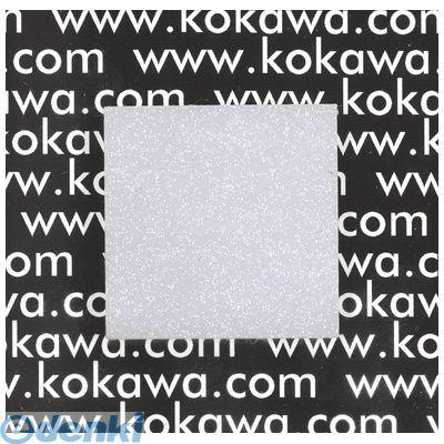 【個数:5個】粉河 KOKAWA WPS-20 直送 代引不可・他メーカー同梱不可 PS樹脂ガラス 梨地ホワイト 2mm 5入 WPS20【送料無料】