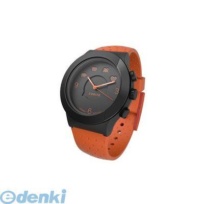 CONNECTEDEVICE 4562187616819 Bluetooth SMART対応アナログ腕時計 COGITO FIT ORANGE BLACK