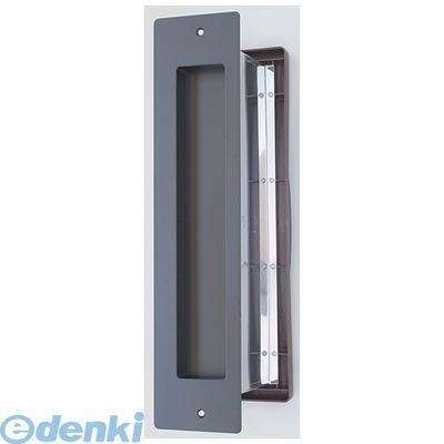 水上金属 NO3000-OO-BK-T No3000ポスト タテ型 内フタ付気密型 大壁用 色:黒 NO3000OOBKT