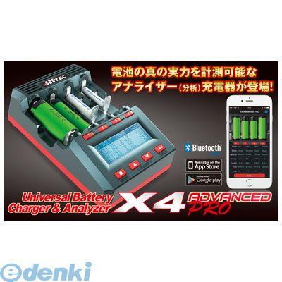 【個数:1個】ハイテックマルチプレックスジャパン 44250 HitecUniversal Battery Charger X4 AdvancedPRO
