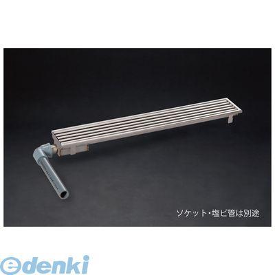 シマブン GSGY-15L600-F 直送 代引不可・他メーカー同梱不可 小川くん 玄関排水ユニット GS 横抜き仕様 プレーンタイプ 長さ586×幅144 GSGY15L600F