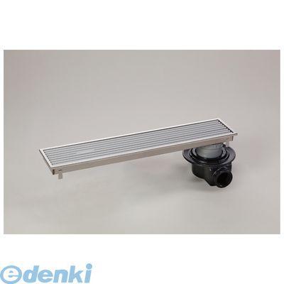 シマブン HRAZ-15L450 直送 代引不可・他メーカー同梱不可 小川くん 排水ユニット樹脂グレーチング浅型 防水横引き グレー 幅144×長さ444 HRAZ15L450【送料無料】