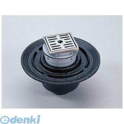 シマブン HSKB-K100 直送 代引不可・他メーカー同梱不可 小川くん 排水ユニット100角 防水縦引き 長さ114×幅114 HSKBK100