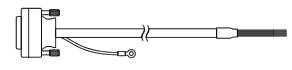 小野測器 AA-8107 BCDコード片側オープン 3M AA8107【送料無料】