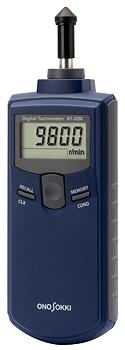 小野測器 [HT-3200] 接触式デジタルハンドタコメタ HT3200
