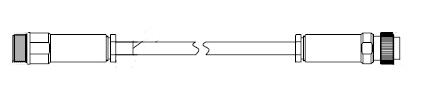 小野測器 AG-3305 マイクロホンケーブル AG3305【送料無料】