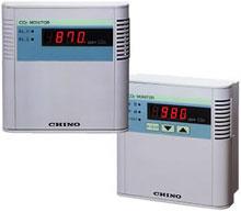 MA1002 炭酸ガス濃度計 アラーム付伝送信号4~20mA MA-1002【送料無料】