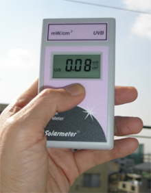 [UV-6.0] デジタル紫外線強度計(高強度UVB専用測定用) 紫外線 UV6.0