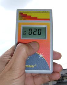 [UV-6.5] スキンチェッカー デジタル紫外線強度計(紫外線指数表示) 紫外線 UV6.5