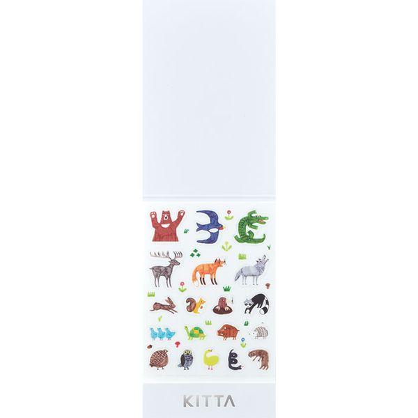 キングジム KIMG JIM KITD003 キッタシ-ル 日本 アイコン キッタシールアイコン アニマル 新作入荷!! ちいさく持てる KITTAシール KITTA