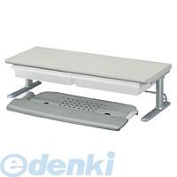 コクヨ KOKUYO 55053297 キーボードスライダー<RESPACE-C>トレー付き棚1段ライトグレー EAS-DSC6079M