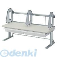 コクヨ(KOKUYO) [55053334] デスクシェルフ<RESPACE-C>トレー付き幅600mm棚1段ライトグレー EAS-DSC6073M
