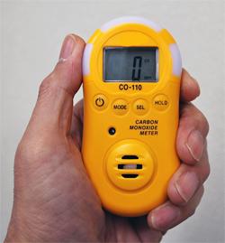 【受注生産品 納期-約2.5ヶ月】MK CO-110 一酸化炭素ガス検知器 CO110