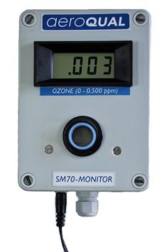 【受注生産品 納期-約1.5ヶ月】MK SM-70L 低濃度オゾン計 リレーコンタクト アナログ、デジタル出力付 SM70L