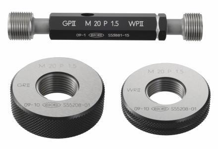 第一測範 GR2 5-0.8 メートルネジリングゲージ並目 GR250.8