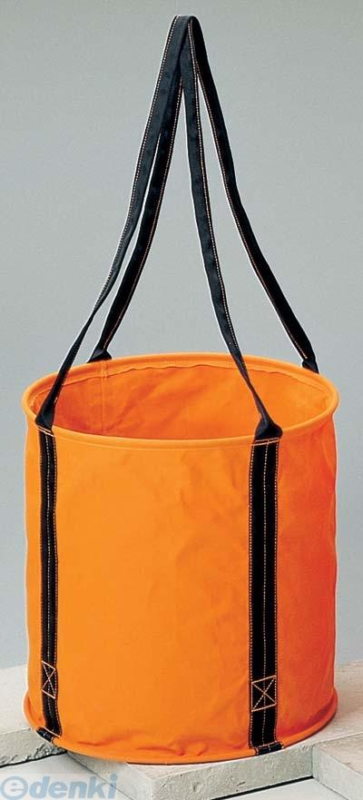 コヅチ(KOZUCHI) [KB-02-50BOR] 6号 オレンジ 防水帆布 大型電工用バケツ直径50cm×高さ50cm KB0250BOR