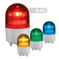 【個数:1個】日恵 [VL09S-D24NG]「直送」【代引不可・他メーカー同梱不可】 LED回転灯ニコフラッシュVL09型 緑 VL09SD24NG