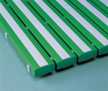 【個数:1個】テラモト MR-098-440-1 抗菌すべり止め安全スノコ 緑 600×860mm MR0984401