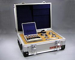 村上衡器製作所 村上衡器 MURAKAMI0222 OIML型標準分銅JISマーク付 セットF2級計2kg MURAKAMI-0222