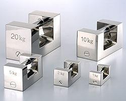 村上衡器製作所 村上衡器 MURAKAMI0250 ステンレス製まくら型分銅単品 F1級2kg MURAKAMI-0250