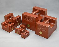 村上衡器製作所 村上衡器 MURAKAMI0312 鋳鉄製まくら型分銅 M2級1kg MURAKAMI-0312