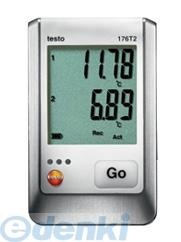 テストー(testo) [testo176T2] 外付け温度2点式データロガー