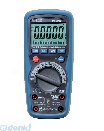 CEM DT-9919 デジタル・マルチメーター DT9919