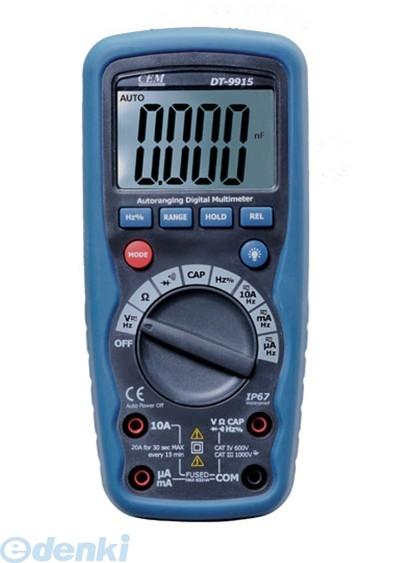 CEM DT-9918 デジタル・マルチメーター DT9918