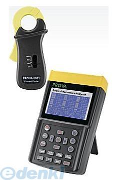 TES PROVA-6830+6801 消費電力と高調波アナライザ PROVA6830+6801