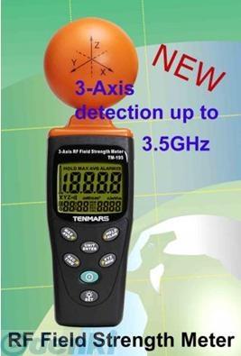 TENMARS TM-195 電磁波・マイクロ波漏洩測定器 TM195