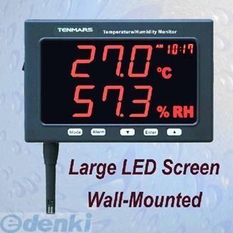 TENMARS TM-185 温度・湿度モニター TM185