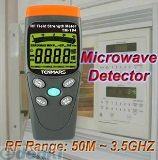 【納期-約1ヶ月】【納期-約1ヶ月】TENMARS TM-194 高周波電磁波・マイクロ波漏洩測定器 TM194