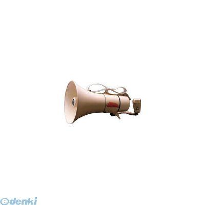 ノボル電機製作所 ノボル TM208 ショルダータイプメガホン13Wホイッスル音付き【電池別売 433-4256