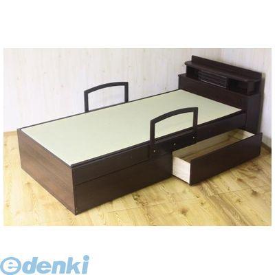 【個数:1個】大川リビング木工社(OKAWA LIVING)[4560463784580] 「直送」【代引不可・他メーカー同梱不可】 シングル畳ベッド 和畳