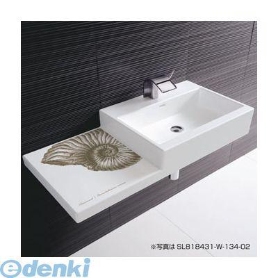 三栄水栓製作所 SANEI SL818431-W-104 洗面器 SL818431W104