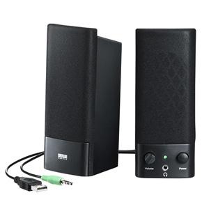 サンワサプライ [MM-SPL2NU2] USB電源マルチメディアスピーカー MMSPL2NU2
