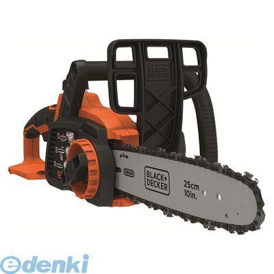 ブラック&デッカー GKC1825L2-JP チェーンソー 25cm ブラック×オレンジ GKC1825L2JP【送料無料】