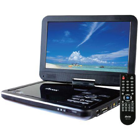 ADP-1001HK 【5個入】 AVOX 10インチ ポータブルDVDプレーヤー ADP-1001HK ADP1001HK