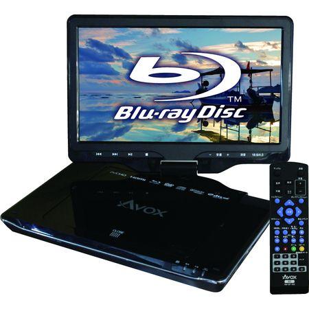 APBD-1080HK 【5個入】 AVOX 10インチ ポータブルブルーレイプレーヤー APBD-1080HK APBD1080HK