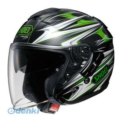 SHOEI(ショウエイ) [4512048440398] ヘルメット J-CRUISE CLEAVE TC-4 GRN/BK XL