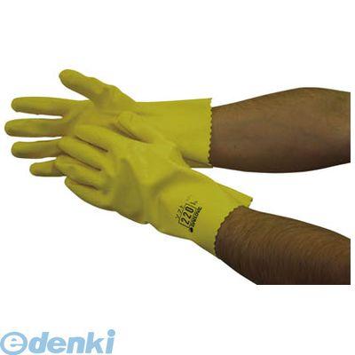 【あす楽対応】ダイヤゴム [D220M] 耐油用手袋 ダイローブ220【M】 (10入)【送料無料】