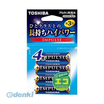 東芝 TOSHIBA LR6H 4EC 【50セット】 インパルス 単3-4P【フック】【4本】 LR6H4EC